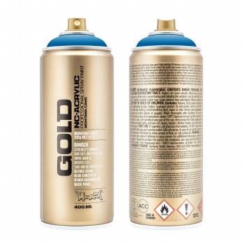 Montana GOLD Spray Color, Blue Magic - 400ml Spray Can