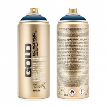 Montana GOLD Spray Color, Blue Note - 400ml Spray Can