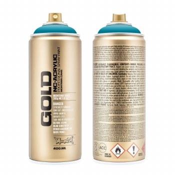 Montana GOLD Spray Color, Aqua - 400ml Spray Can