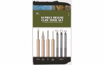 Deluxe Clay Tool Set - 14 Piece