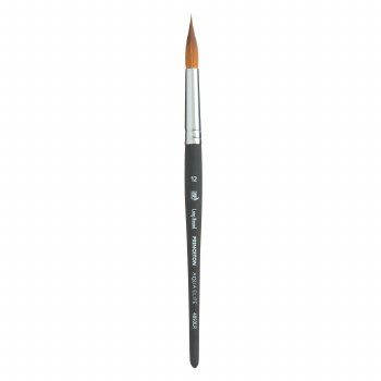 Aqua Elite Synthetic Kolinsky Sable Watercolor Brushes, Long Rounds, Aqua Elite Long Round 12