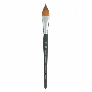 "Aqua Elite Synthetic Kolinsky Sable Watercolor Brushes, Aqua Elite Oval Wash 3/4"""