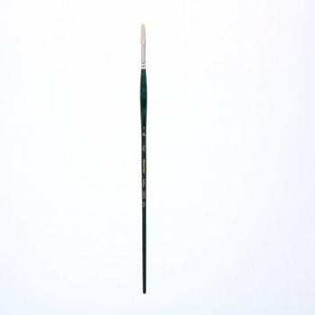 Ashley Natural Bristle Brushes, Filberts, 2
