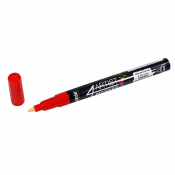 4Artist Markers, 2mm, Red