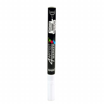 4Artist Markers, 2mm, White