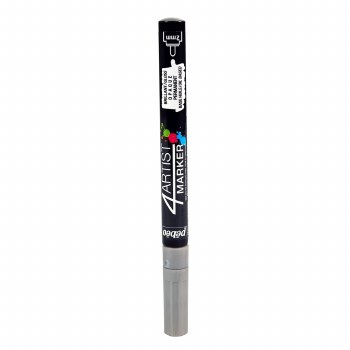 4Artist Markers, 2mm, Silver