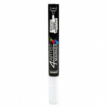4Artist Markers, 4mm, White