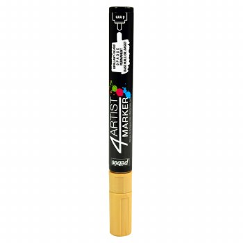 4Artist Markers, 4mm, Gold