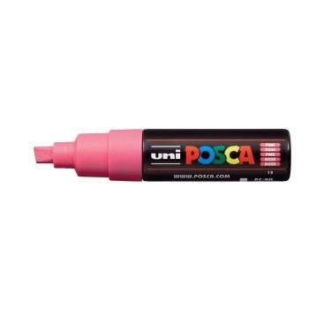 POSCA, PC-8K Broad Chisel, Pink