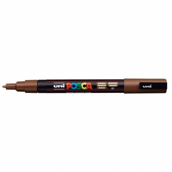 POSCA Paint Markers, PC-3M Fine, Brown