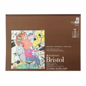 Strathmore Bristol Paper Pads - Series 400, Vellum, 18 in. x 24 in. - 15 Shts./Pad
