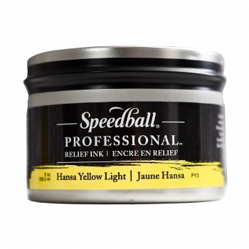 Professional Relief Inks, 8 oz., Hansa Yellow