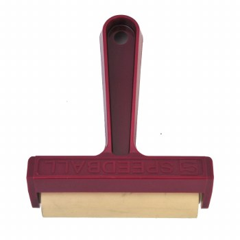 4 in. Brayers with Pop-In Rollers, Soft Rubber Carded