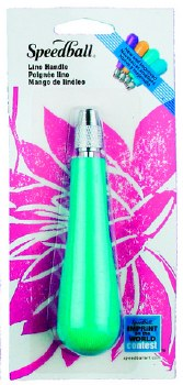 Lino Cutter Handle, Green (Carded)