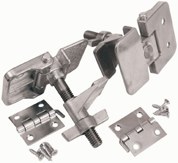 Screen Frame Hinge Clamps, Zinc Alloy, Positive locking