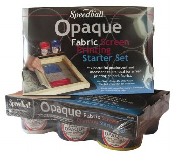 Opaque Fabric Screen Printing Ink Starter Set, Opaque Fabric Screen Printing Ink Starter Set