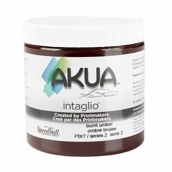 Akua Intaglio Ink, 8 oz. Jars, Burnt Umber