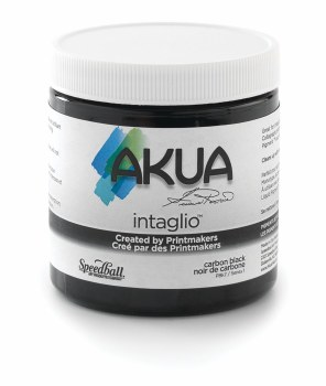 Akua Intaglio Ink, 2 oz. Jars, Carbon Black
