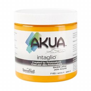 Akua Intaglio Ink, 8 oz. Jars, Diarylide Yellow