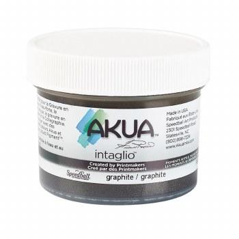 Akua Intaglio Ink, 2 oz. Jars, Graphite
