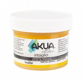 Akua Intaglio Ink, 2 oz. Jars, Hansa Yellow