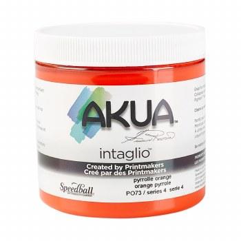 Akua Intaglio Ink, 8 oz. Jars, Pyrrole Orange