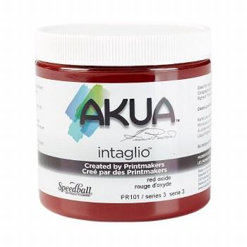 Akua Intaglio Ink, 8 oz. Jars, Red Oxide