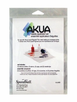 Akua Needle Applicator Set, 5 Bottles, 3 Different Needle Styles