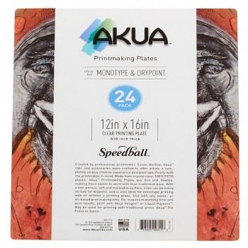 Akua Printing Plates, 24-Packs, 12 in. x 16 in. - 24/Pkg.