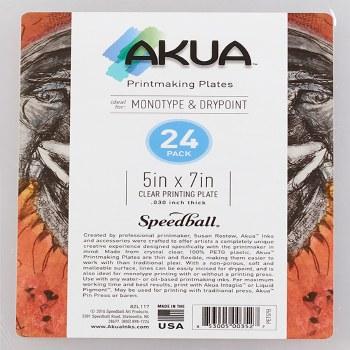 Akua Printing Plates, 24-Packs, 5 in. x 7 in. - 24/Pkg.