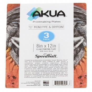 Akua Printing Plates, 3-Packs, 8 in. x 12 in. - 3/Pkg.