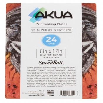 Akua Printing Plates, 24-Packs, 8 in. x 12 in. - 24/Pkg.