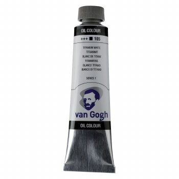 Van Gogh Oil Colors, 40ml, Titanium White