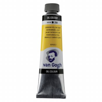Van Gogh Oil Colors, 40ml, Cadmium Yellow Light