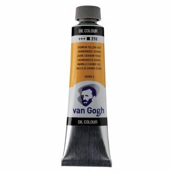 Van Gogh Oil Colors, 40ml, Cadmium Yellow Deep