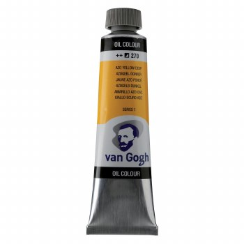 Van Gogh Oil Colors, 40ml, Cadmium Yellow Deep Azo