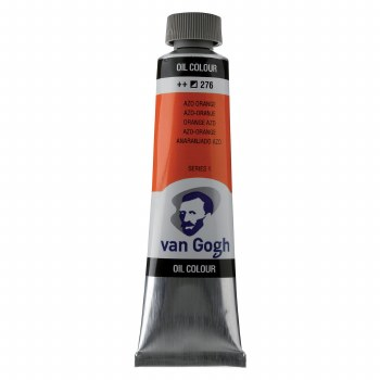 Van Gogh Oil Colors, 40ml, Cadmium Orange Azo