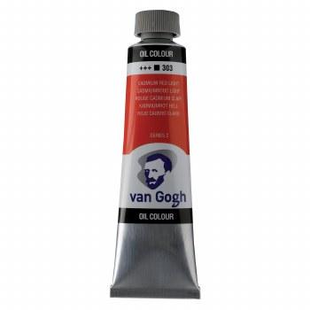 Van Gogh Oil Colors, 40ml, Cadmium Red Light