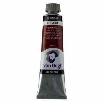 Van Gogh Oil Colors, 40ml, Burnt Sienna
