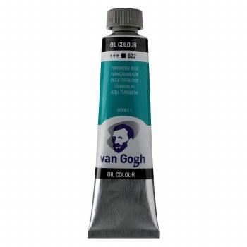 Van Gogh Oil Colors, 40ml, Turquoise Blue