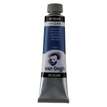 Van Gogh Oil Colors, 40ml, Pthalo Blue
