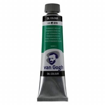 Van Gogh Oil Colors, 40ml, Permanent Green Deep