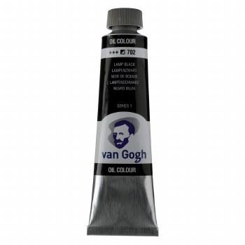 Van Gogh Oil Colors, 40ml, Lamp Black