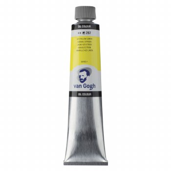 Van Gogh Oil Colors, 200ml, Azo Yellow Lemon