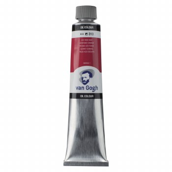 Van Gogh Oil Colors, 200ml, Azo Red Deep