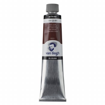 Van Gogh Oil Colors, 200ml, Burnt Sienna