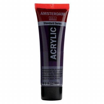 Amsterdam Standard Acrylics, 20ml, Permanent Blue Violet