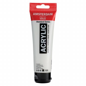 Amsterdam Standard Acrylics, 120ml, Titanium White