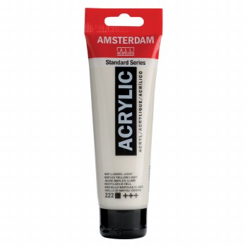 Amsterdam Standard Acrylics, 120ml, Naples Yellow Light