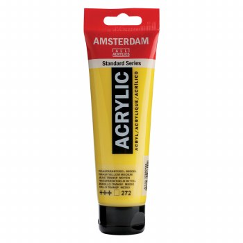 Amsterdam Standard Acrylics, 120ml, Transparent Yellow Medium
